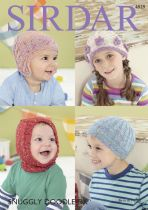 Sirdar Snuggly Doodle DK - 4929 Hats Knitting Pattern